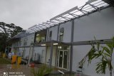 Gedung karantina Rumah Sakit Khusus Infeksi Pulau Galang rusak