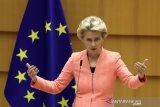 Pemimpin EU setuju beri sanksi lebih terhadap Belarus atas insiden Ryanair