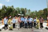 Bupati Bantul meresmikan dua jembatan bantuan BNPB di Pajangan