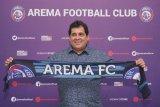 Arema FC resmi kenalkan pelatih baru asal Brasil
