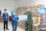 WIKA salurkan kebutuhan logistik RS Darurat COVID-19 Wisma Atlet Kemayoran