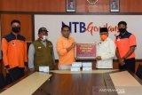 NTB menerima bantuan 50 ribu masker medis dari Provinsi Henan Tiongkok