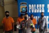 Polisi Pekanbaru lumpuhkan tiga bandit sindikat ganjal kartu ATM
