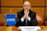 Presiden FIFA mengaku prihatin penundaan kualifikasi Piala Dunia