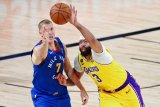 Lakers pecundangi Nuggets di gim pertama final Wilayah Barat