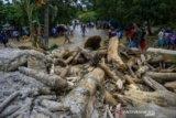 Bupati Sigi minta korban banjir tabah  hadapi bencana alam