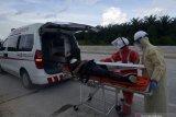 HK imbau sopir  beristirahat setelah tiga jam berkendara