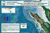 BMKG catat terjadi 27 gempa di Sumut dan sekitarnya dalam  sepekan