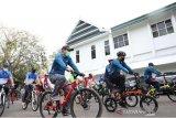 Haornas ke-37, Pemkab Bantaeng gelar sepeda santai dan bersih kota