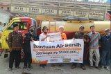 Lazismu Kretek salurkan 200 tangki air ke Bantul dan Gunung Kidul