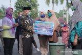 Disnakan OKU saluran  bantuan 17.500 bibit Ikan Lele