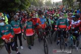 Pemkot Palu berusaha peserta fun bike patuhi protokol COVID-19