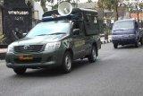 Cegah penyebaran COVID-19,Kodim Wonosobo patroli tertib masker