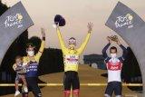 Klasemen akhir Tour de France setelah Pogacar memastikan gelar juara