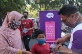 XL Axiata-ACT bagikan ribuan masker gratis untuk warga Padang
