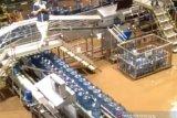 Pabrik Aqua di Desa Mekarsari Sukabumi ikut terendam banjir