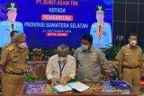 Gubernur Sumsel apresiasi PTBA bantu infrastruktur kabupaten