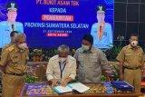 Gubernur Sumsel apresiasi PTBA bantu pembangunan infrastruktur kabupaten