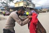 Tim gabungan Polres amankan 14 motor dan sajam saat razia di Wamena