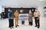 Pemkab Gowa terima bantuan 1.600 paket makanan tambahan dan ventilator