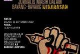 AJI-IJTI Lampung gelar diskusi publik 21 tahun UU Pers