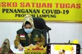Kasus COVID-19 Lampung bertambah 10, totalnya jadi 738 kasus
