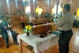 Polres Puncak Papua sampaikan pesan kamtibmas di jemaat Gereja Efata Ilaga