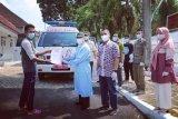 Bupati Pringsewu ikut antarkan pasien sembuh COVID-19 ke rumah