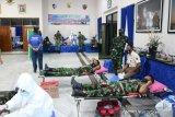 Lanud Haluoleo donor darah guna bantu stok jelang HUT ke-75 TNI