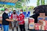Fraksi PDIP DPRD Kapuas bantu korban kebakaran Pujon