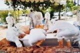 Pemakaman putra Wali Kota dilakukan dengan protokol COVID-19