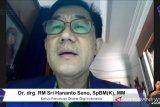 Persatuan Dokter Gigi Indonesia harap PCR gratis dilakukan menyeluruh
