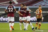 West Ham menang 5-1 atas Hull untuk melaju ke putaran empat