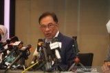 Anwar Ibrahim umumkan dirinya dapat dukungan parlemen bentuk pemerintahan