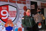 KPU tetapkan pilkada Kalteng diikuti dua pasangan calon