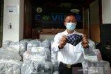 Bantul memberdayakan ratusan UKM produksi masker batik