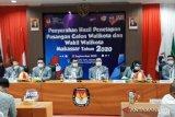 KPU tetapkan empat pasangan calon Pilkada Kota Makassar