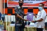 KPU tetapkan dua pasangan calon di pilkada Mamuju