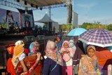 Wakil Ketua DPRD Tegal Wasmad Edi Susilo  mengaku khilaf gelar konser dangdut