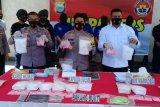 Polda Sulsel gagalkan peredaran 13 kilogram sabu dan 2.994 butir pil ekstasi