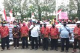 Ratusan masyarakat Kota Sorong sampaikan aspirasi pemekaran Papua Barat Daya ke Walikota