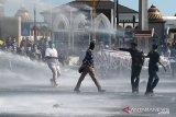 Delapan orang diamankan dalam demo hari tani di Bengkulu yang ricuh