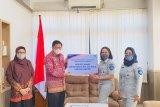 Jasa Raharja Lampung serahkan bantuan APD untuk pegawai Samsat