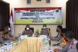 Pejabat Mabes Polri supervisi di Polres Keerom
