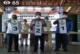 KPU Lampung Timur gelar pengundian nomor urut pasangan calon