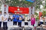 KPU Manado tetapkan nomor urut  Paslon wali kota