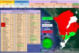 Hari ini, 115 kasus baru COVID-19 baru di Padang dan 50 sembuh
