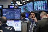 Wall Street ditutup lebih tinggi yang ditopang harapan stimulus fiskal baru