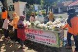 Jumat Berkah di Pendopo Wabup Wonosobo  bagikan sayuran gratis