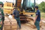 57 penambangan ilegal di Kota Sorong ditangkap petugas Balai Gakkum